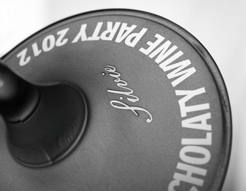 Pískování sklenice GASTRO 450 ml Chocholatý