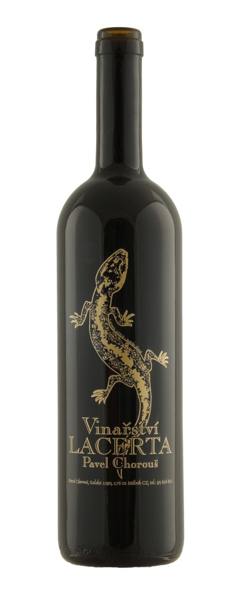 Etiketa vinařství Lacerta