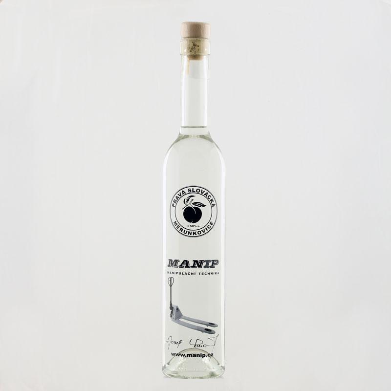Reklamní láhev MANIP