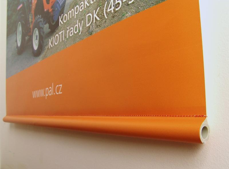 Výroba textilního banneru